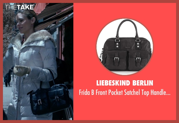 Liebeskind Berlin black bag from Jessica Jones seen with Pam (Susie Abromeit)