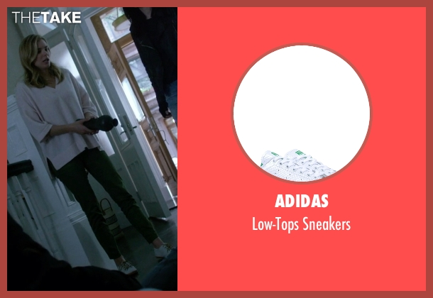 Adidas white sneakers from Jessica Jones seen with Pam (Susie Abromeit)