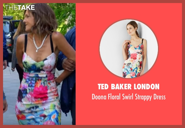Ted Baker London dress from The Mick seen with Pamela (Unknown Actor)