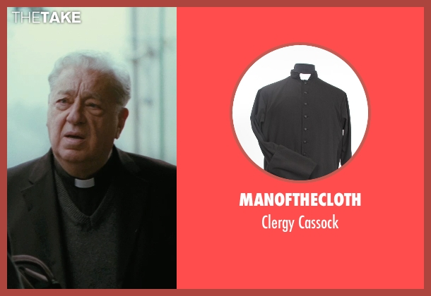 ManoftheCloth cassock from The American seen with Paolo Bonacelli (Father Benedetto)