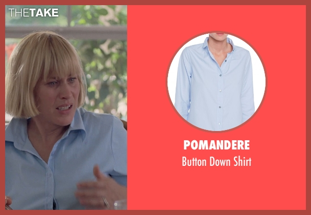 Pomandere blue shirt from Boyhood seen with Patricia Arquette (Mom)