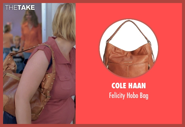 Cole Haan brown bag from Boyhood seen with Patricia Arquette (Mom)