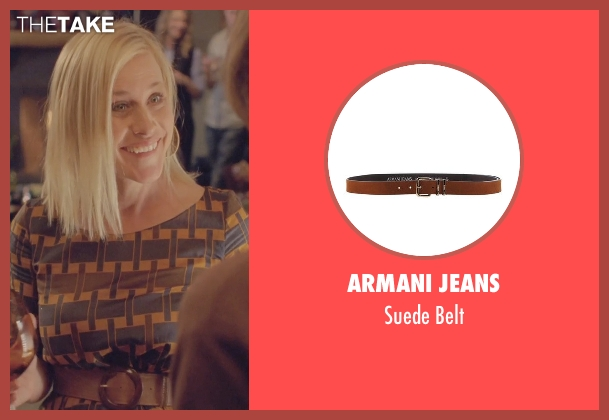 Armani Jeans brown belt from Boyhood seen with Patricia Arquette (Mom)