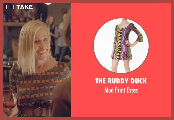 The Ruddy Duck dress from Boyhood seen with Patricia Arquette (Mom)