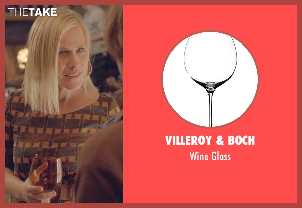 Villeroy & Boch glass from Boyhood seen with Patricia Arquette (Mom)