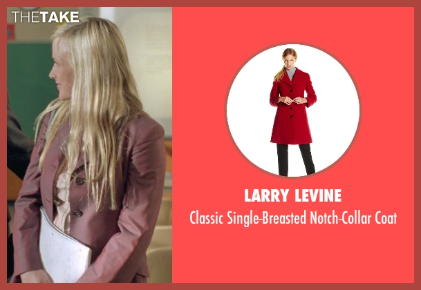 Larry Levine red coat from Boyhood seen with Patricia Arquette (Mom)