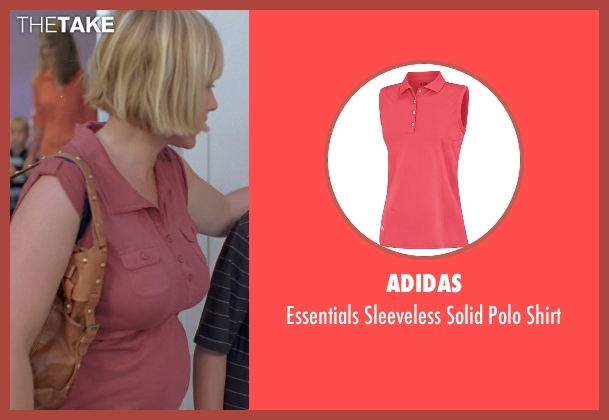Adidas red shirt from Boyhood seen with Patricia Arquette (Mom)