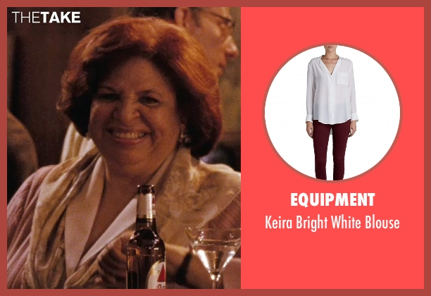 Equipment white blouse from (500) Days of Summer seen with Patricia Belcher (Millie)