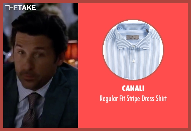 Canali blue shirt from Valentine's Day seen with Patrick Dempsey (Dr. Harrison Copeland)