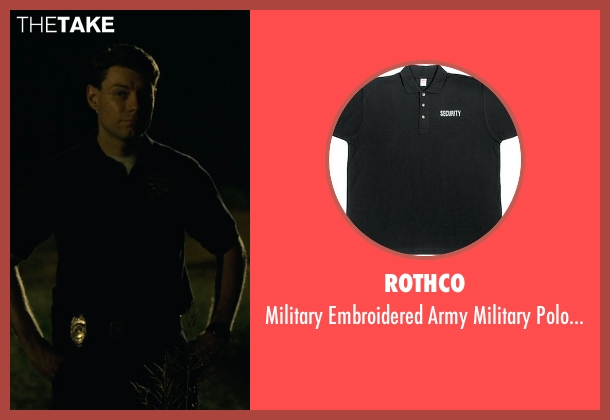 Rothco black shirts from Gone Girl seen with Patrick Fugit (Detective Jim Gilpin)