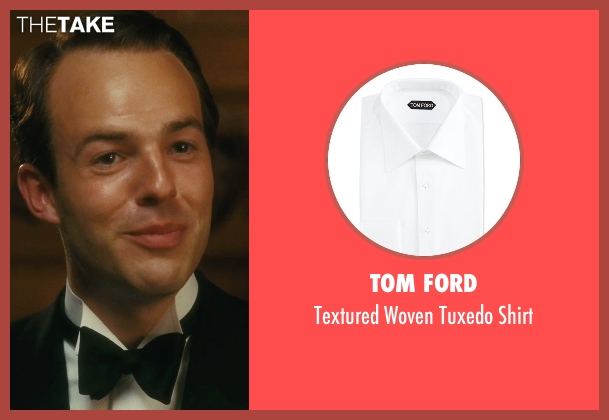 Tom Ford white shirt from Atonement seen with Patrick Kennedy (Leon Tallis)