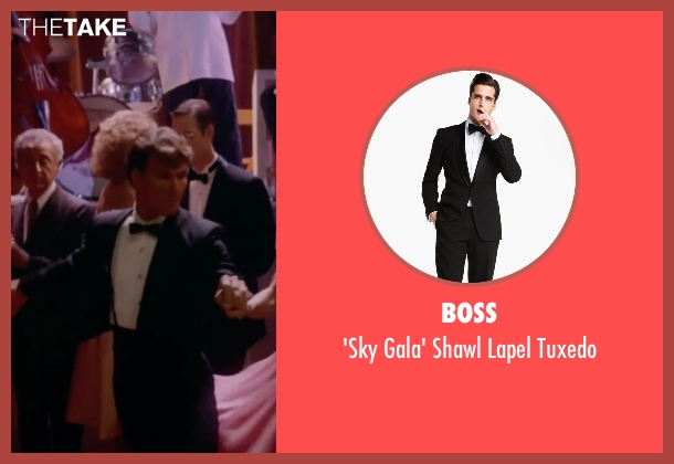 Boss black tuxedo from Dirty Dancing seen with Patrick Swayze (Johnny Castle)