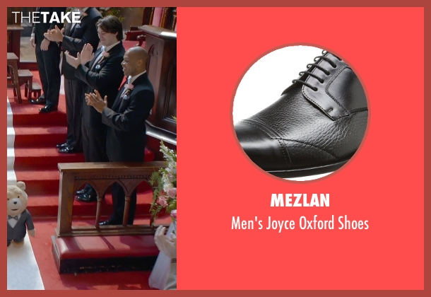 Mezlan black shoes from Ted 2 seen with Patrick Warburton (Guy)