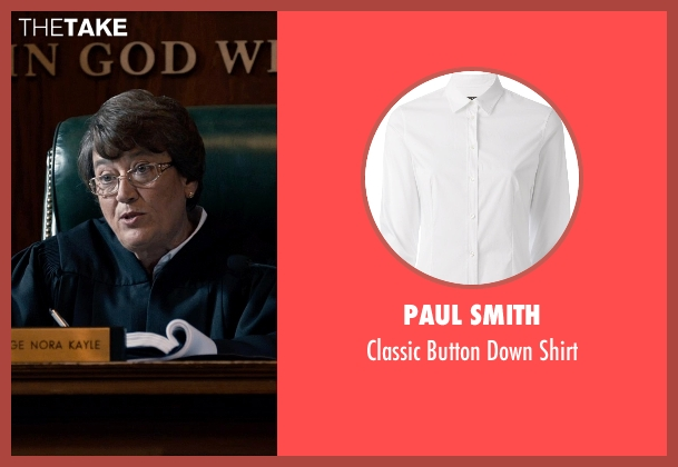 Paul Smith white shirt from Southpaw seen with Patsy Meck (Judge Kayle)