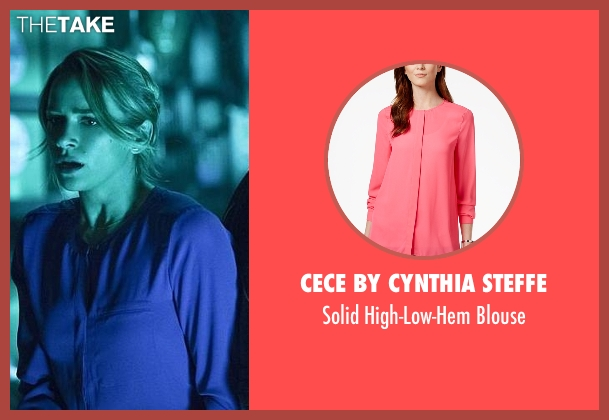 CeCe By Cynthia Steffe pink blouse from The Flash seen with Patty Spivot (Shantel VanSanten)