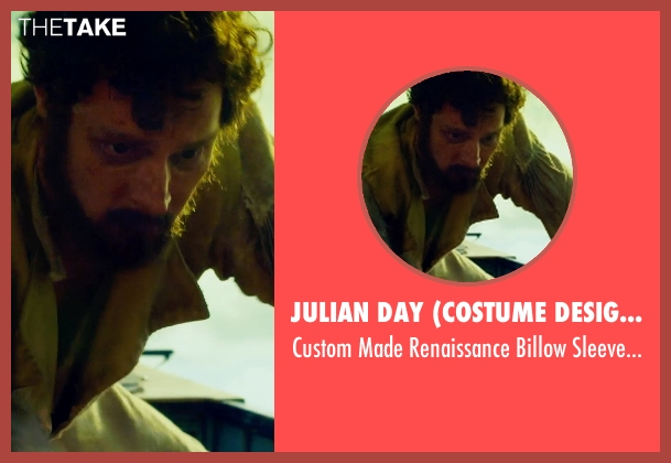 Julian Day (Costume Designer) shirt from In the Heart of the Sea seen with Paul Anderson (Thomas Chappel)