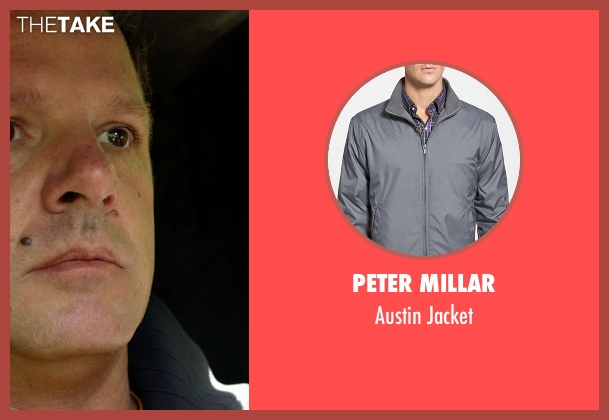 Peter Millar gray jacket from Need for Speed seen with Paul Dallenbach (Johnny V)