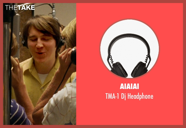 Aiaiai black headphone from Love & Mercy seen with Paul Dano (Brian Wilson)