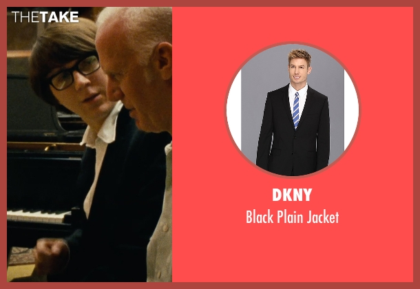 DKNY black jacket from Love & Mercy seen with Paul Dano (Brian Wilson)
