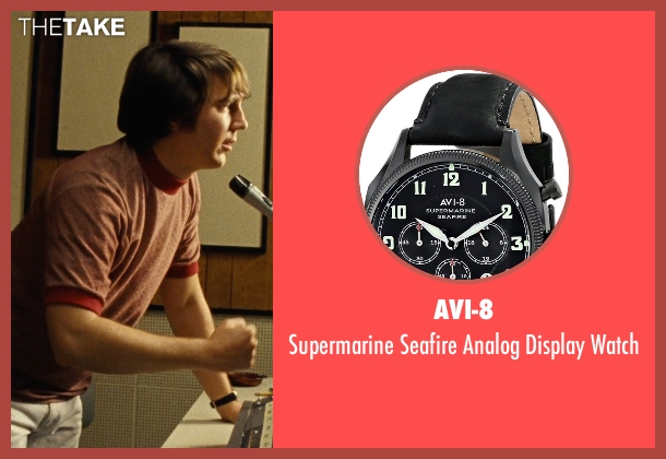 AVI-8 black watch from Love & Mercy seen with Paul Dano (Brian Wilson)