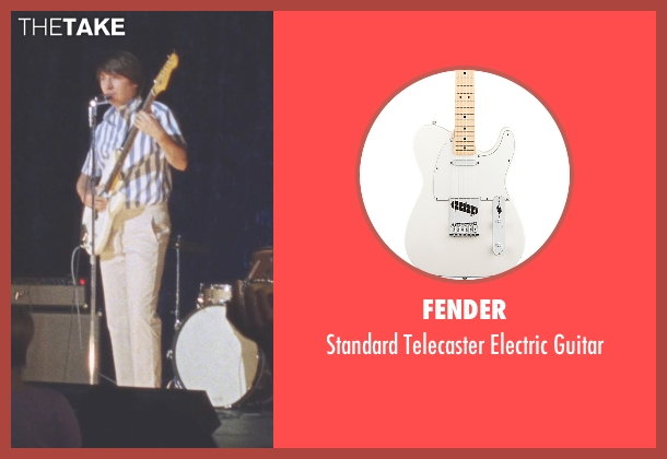 Fender guitar from Love & Mercy seen with Paul Dano (Brian Wilson)