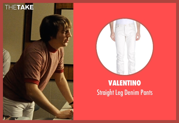 Valentino white pants from Love & Mercy seen with Paul Dano (Brian Wilson)