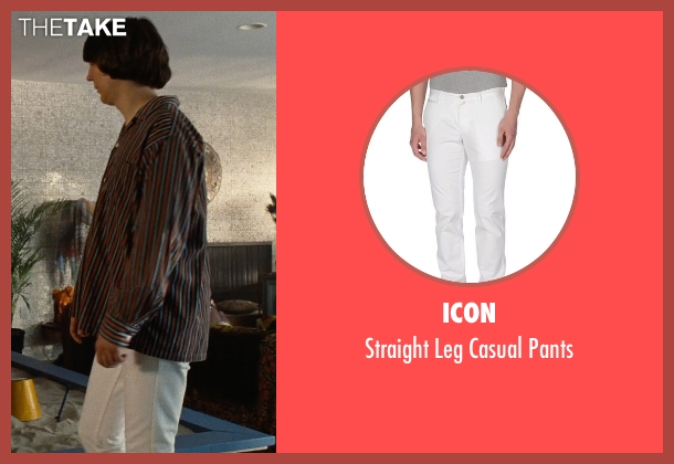 Icon white pants from Love & Mercy seen with Paul Dano (Brian Wilson)