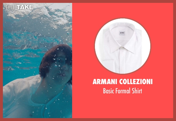 Armani Collezioni	 white shirt from Love & Mercy seen with Paul Dano (Brian Wilson)