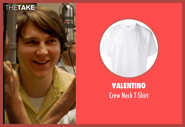 Valentino white t-shirt from Love & Mercy seen with Paul Dano (Brian Wilson)