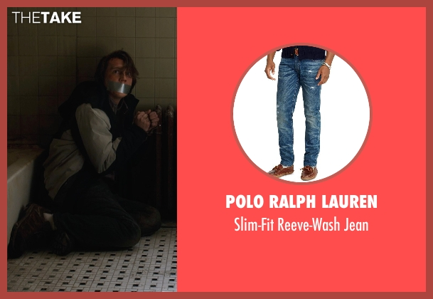 Polo Ralph Lauren blue jean from Prisoners seen with Paul Dano (Alex Jones)
