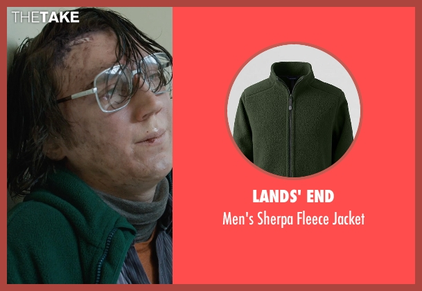 Lands' End green jacket from Prisoners seen with Paul Dano (Alex Jones)