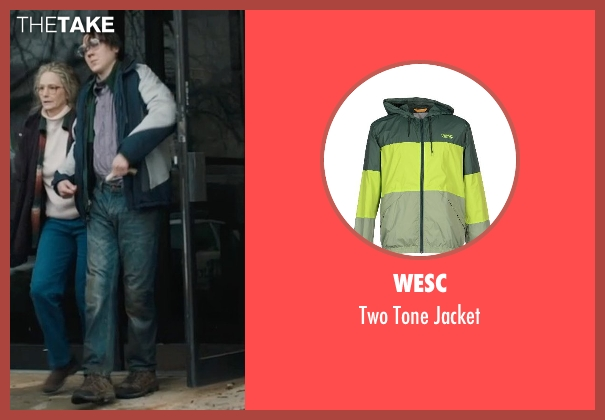 WESC green jacket from Prisoners seen with Paul Dano (Alex Jones)