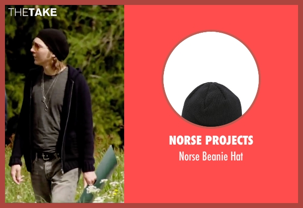 Norse Projects black hat from Youth seen with Paul Dano (Jimmy Tree)