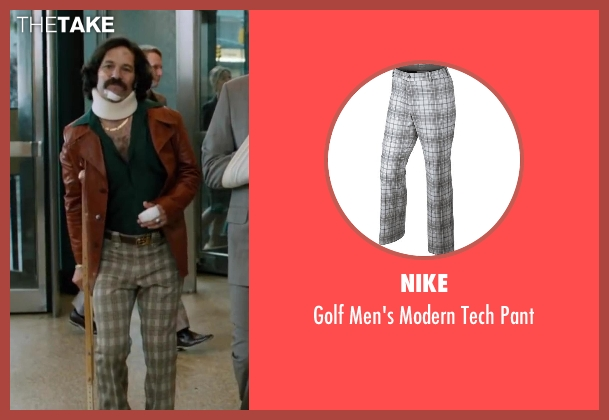 Nike gray pant from Anchorman 2: The Legend Continues seen with Paul Rudd (Brian Fantana)