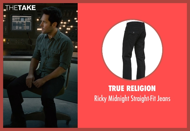 True Religion black jeans from Ant-Man seen with Paul Rudd (Scott Lang / Ant-Man)