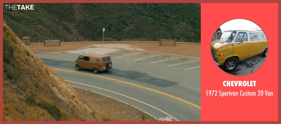 Chevrolet van from Ant-Man seen with Paul Rudd (Scott Lang / Ant-Man)