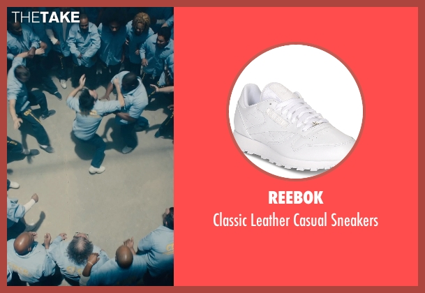 Reebok white sneakers from Ant-Man seen with Paul Rudd (Scott Lang / Ant-Man)
