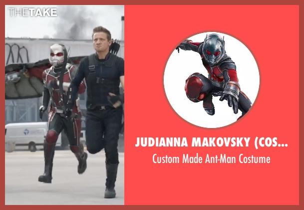 Judianna Makovsky (Costume Designer) costume from Captain America: Civil War seen with Paul Rudd (Scott Lang / Ant-Man)