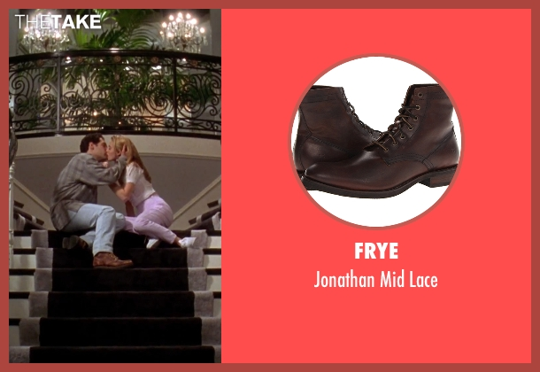 Frye brown lace from Clueless seen with Paul Rudd (Josh)