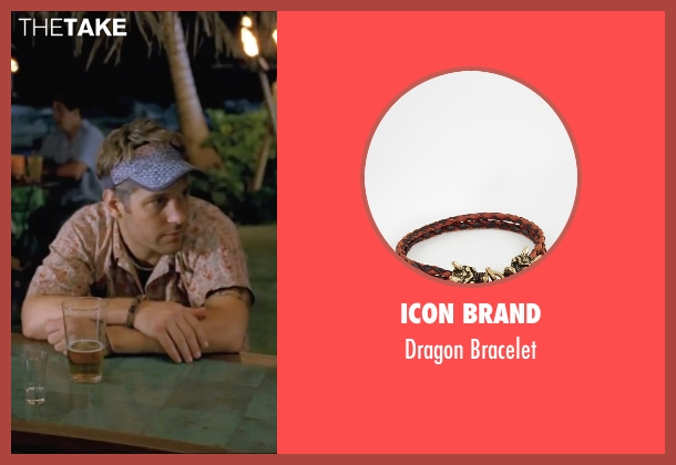 Icon Brand brown bracelet from Forgetting Sarah Marshall seen with Paul Rudd (Chuck)