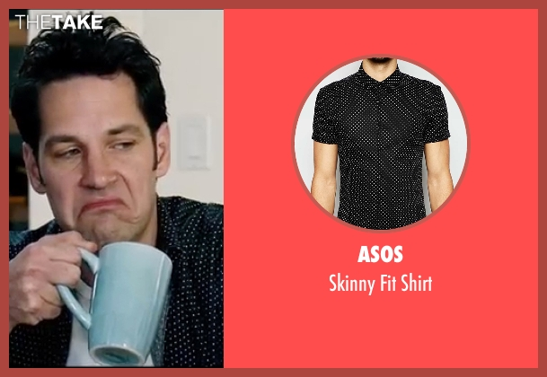 Asos black shirt from Knocked Up seen with Paul Rudd (Pete)