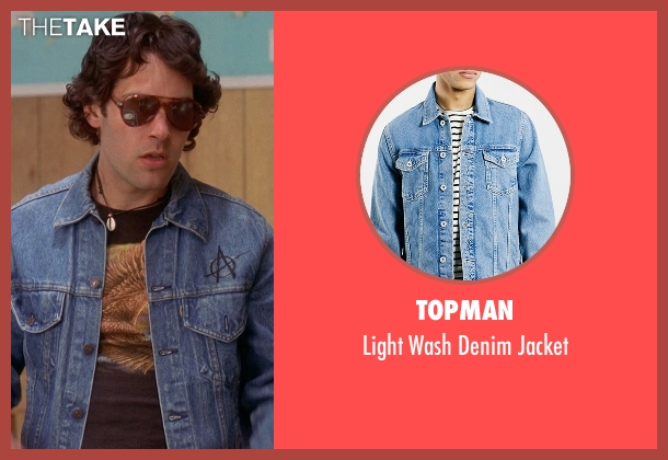 Topman blue jacket from Wet Hot American Summer seen with Paul Rudd (Andy)