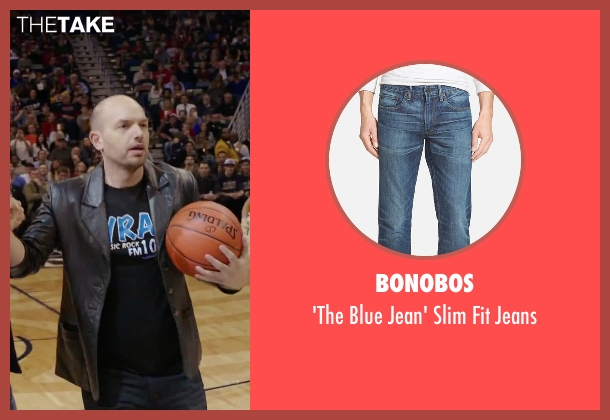 Bonobos blue jeans from Daddy's Home seen with Paul Scheer (The Whip)