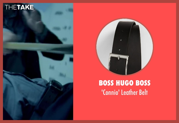 BOSS HUGO BOSS black belt from Brick Mansions seen with Paul Walker (Damien Collier)