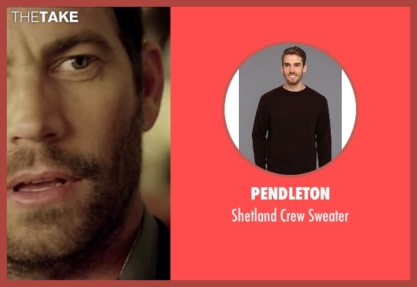 Pendleton brown sweater from Brick Mansions seen with Paul Walker (Damien Collier)