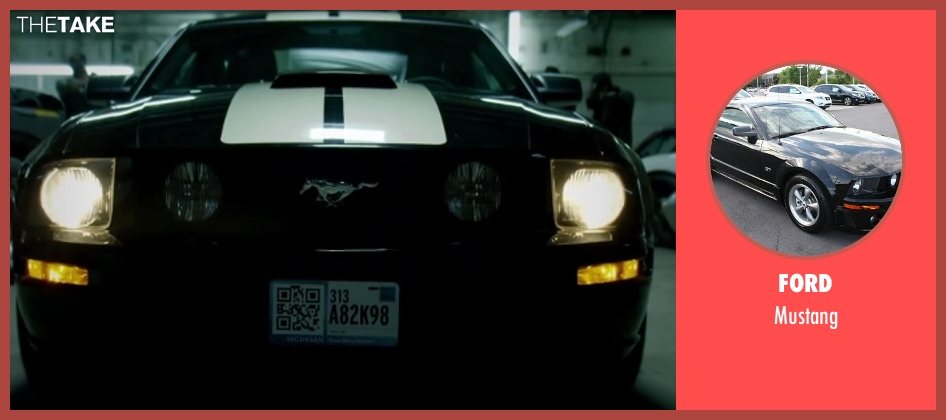 Ford mustang from Brick Mansions seen with Paul Walker (Damien Collier)