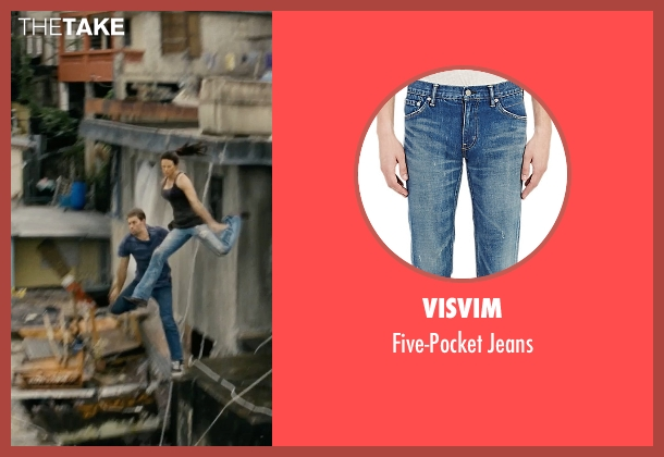 Visvim blue jeans from Fast Five seen with Paul Walker (Brian O'Conner)