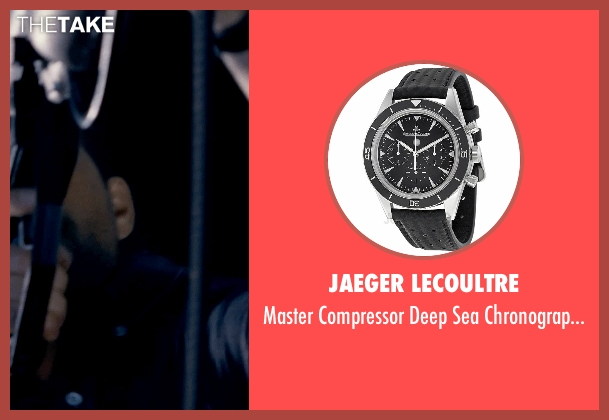 Jaeger LeCoultre black watch from Fast & Furious 6 seen with Paul Walker (Brian O'Conner)