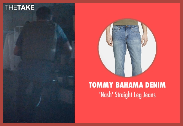 Tommy Bahama Denim blue jeans from Furious 7 seen with Paul Walker (Brian O'Conner)