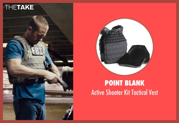 Point Blank vest from Furious 7 seen with Paul Walker (Brian O'Conner)